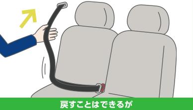 チャイルドシート シート ベルト
